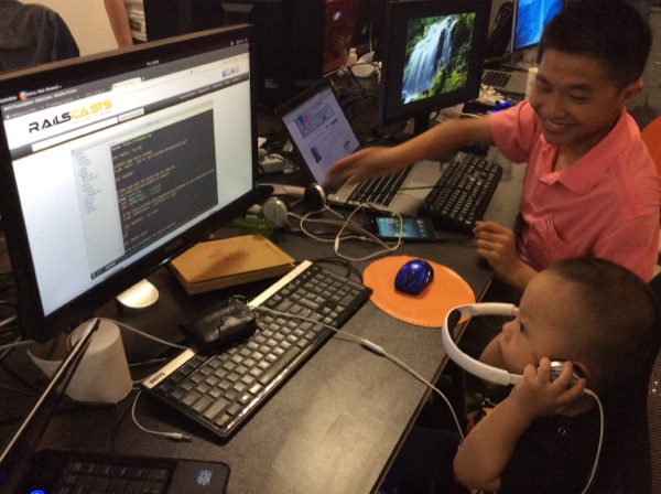 The youngest rubyist in histroy.